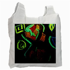 Girls Curiousity 12 Recycle Bag (two Side)