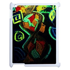 Girls Curiousity 12 Apple Ipad 2 Case (white)