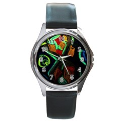 Girls Curiosity 12 Round Metal Watch