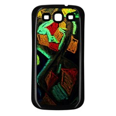 Girls Curiosity 12 Samsung Galaxy S3 Back Case (black)