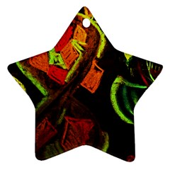 Girls Curiosity 4 Ornament (star)