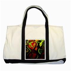 Girls Curiosity 4 Two Tone Tote Bag by bestdesignintheworld