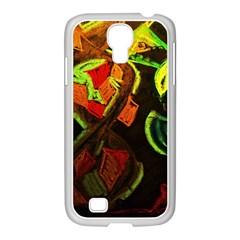 Girls Curiosity 4 Samsung Galaxy S4 I9500/ I9505 Case (white)