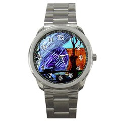 House Will Be Built 8 Sport Metal Watch