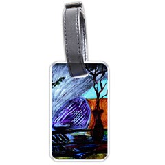 House Will Be Built 8 Luggage Tags (two Sides)