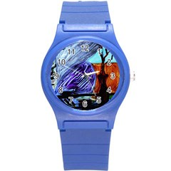 House Will Be Built 8 Round Plastic Sport Watch (s)