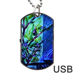 House Will Be Built 1 Dog Tag Usb Flash (two Sides)