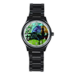 House Will Be Built Stainless Steel Round Watch