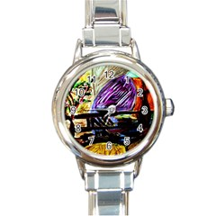 House Will Be Built 6 Round Italian Charm Watch