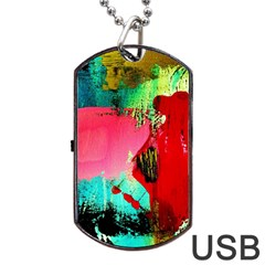Humidity Dog Tag Usb Flash (two Sides) by bestdesignintheworld