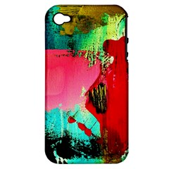 Humidity Apple Iphone 4/4s Hardshell Case (pc+silicone)