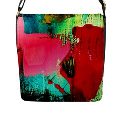 Humidity Flap Messenger Bag (l)  by bestdesignintheworld