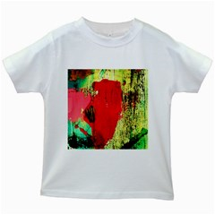 Humidity 9 Kids White T Shirts