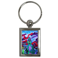 Desert Blooming 1/1 Key Chains (rectangle)