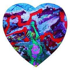 Desert Blooming 1/1 Jigsaw Puzzle (heart)