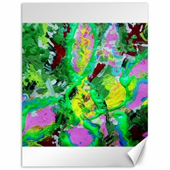 Desert Blooming 1/2 Canvas 12  X 16