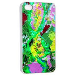 Desert Blooming 1/2 Apple Iphone 4/4s Seamless Case (white)