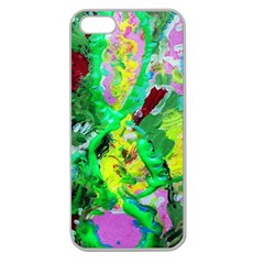 Desert Blooming 1/2 Apple Seamless Iphone 5 Case (clear)