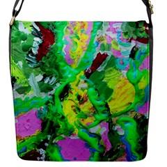 Desert Blooming 1/2 Flap Messenger Bag (s) by bestdesignintheworld