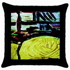 House Will Be Built 5 Throw Pillow Case (black)