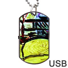 House Will Be Built 5 Dog Tag Usb Flash (one Side)