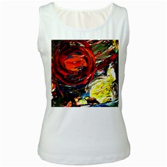 Sunset In A Mountains Women s White Tank Top