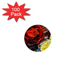 Sunset In A Mountains 1  Mini Buttons (100 Pack)