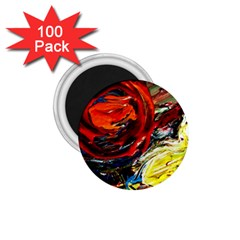 Sunset In A Mountains 1 75  Magnets (100 Pack)
