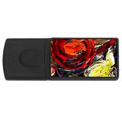 Sunset In A Mountains Rectangular Usb Flash Drive