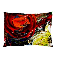 Sunset In A Mountains Pillow Case