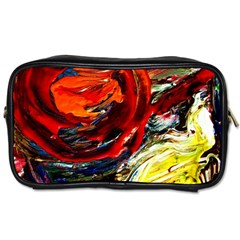 Sunset In A Mountains Toiletries Bags 2 Side by bestdesignintheworld