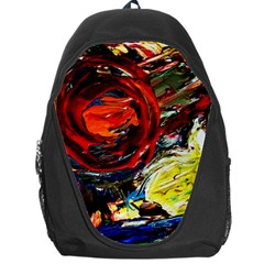Sunset In A Mountains Backpack Bag