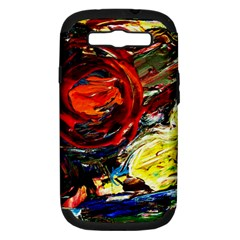 Sunset In A Mountains Samsung Galaxy S Iii Hardshell Case (pc+silicone)