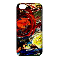 Sunset In A Mountains Apple Iphone 5c Hardshell Case