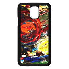 Sunset In A Mountains Samsung Galaxy S5 Case (black)