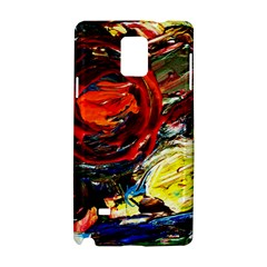Sunset In A Mountains Samsung Galaxy Note 4 Hardshell Case