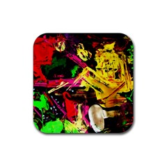 Spooky Attick 1 Rubber Coaster (square)  by bestdesignintheworld
