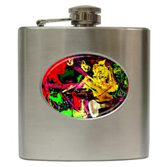 Spooky Attick 1 Hip Flask (6 Oz) by bestdesignintheworld