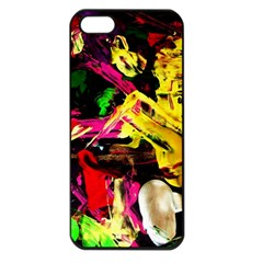 Spooky Attick 1 Apple Iphone 5 Seamless Case (black)