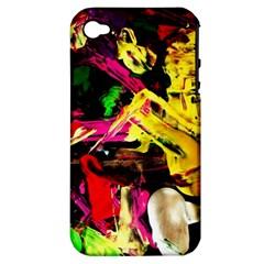 Spooky Attick 1 Apple Iphone 4/4s Hardshell Case (pc+silicone) by bestdesignintheworld