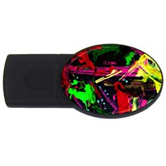 Spooky Attick 2 Usb Flash Drive Oval (4 Gb)