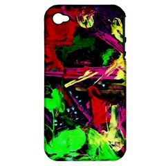 Spooky Attick 2 Apple Iphone 4/4s Hardshell Case (pc+silicone)