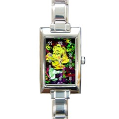 Spooky Attick 3 Rectangle Italian Charm Watch