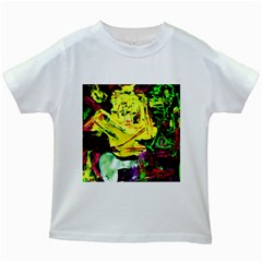 Spooky Attick 3 Kids White T Shirts