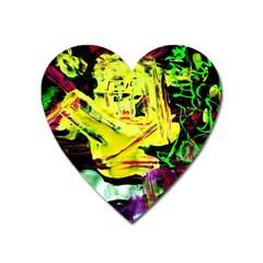 Spooky Attick 3 Heart Magnet