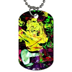 Spooky Attick 3 Dog Tag (two Sides)