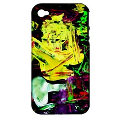 Spooky Attick 3 Apple Iphone 4/4s Hardshell Case (pc+silicone)