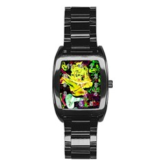 Spooky Attick 3 Stainless Steel Barrel Watch