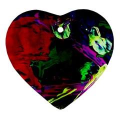 Spooky Attick 4 Ornament (heart)