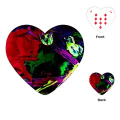 Spooky Attick 4 Playing Cards (heart)